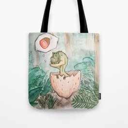 Little Tyrex Tote Bag