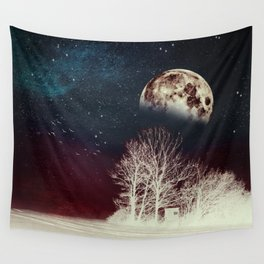 Surrender To The Night Wall Tapestry