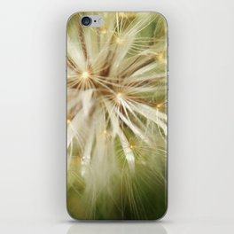 Flower of wishes iPhone Skin
