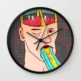 A child's mind Wall Clock