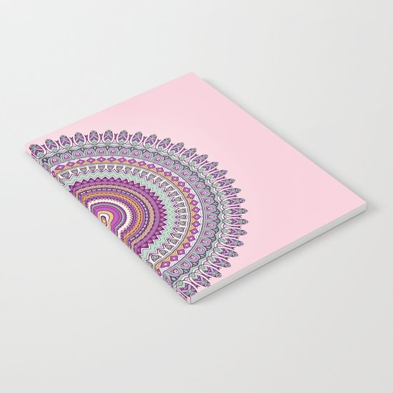 Pastel Mandala Notebook