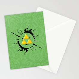 Triforce Zelda Stationery Cards