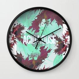 Acid House II Wall Clock