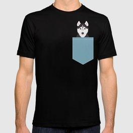 Shiloh - Husky Siberian Husky dog art phone case perfect gift for dog people T-shirt