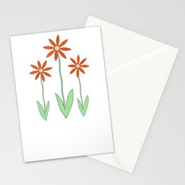 Playful Plaid and Polka Dots Stationery Cards