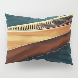 Canoe in Silence Pillow Sham