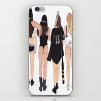 badwood iPhone & iPod Skins featuring Squad by Reza Zabardast