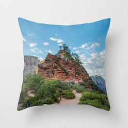 Zion - Angels Rest Throw Pillow