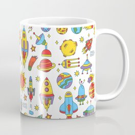 Outer space cosmos pattern Coffee Mug