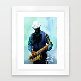 Cool Jazz Framed Art Print