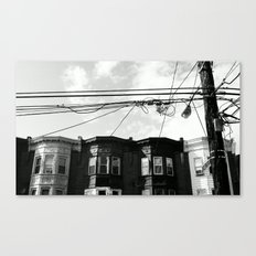 NORTH PHILLY. Canvas Print