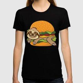 Sloth Burger T-shirt