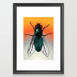 Fly Framed Art Print