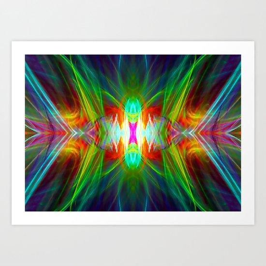 Light Interplay Art Print