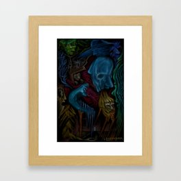 """""""Alive In Isolation"""" Painting By Landon Huber Framed Art Print"""