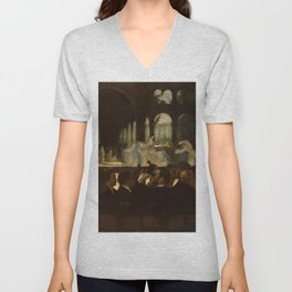 "Edgar Degas ""The Ballet from ""Robert le Diable"""" Unisex V-Neck"