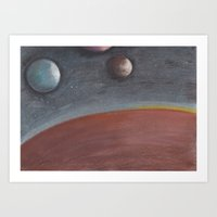 constellation Art Prints featuring constellation by karogfineart