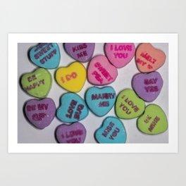 Sweethearts Art Print