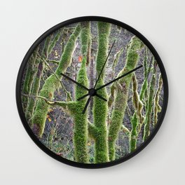 YOUNG RAINFOREST VINE MAPLES Wall Clock