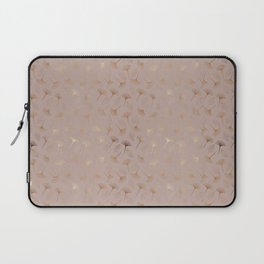 """Elegant Abstract Gold Leaves """"I may be wrong but I doubt it"""" Laptop Sleeve"""