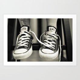 Converse All Star Print Art Print