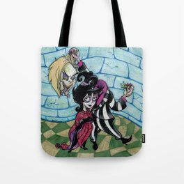 Lydia and the Bug Tote Bag