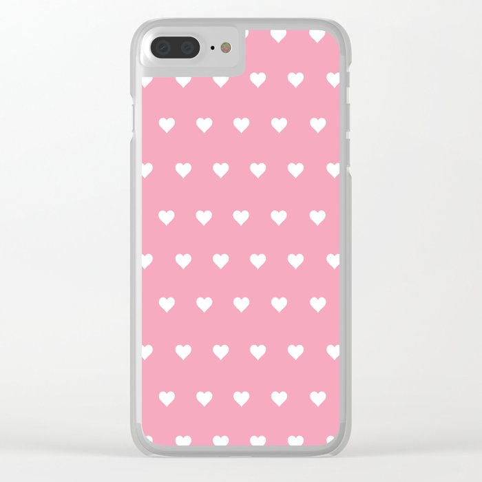 Feel My Love Clear iPhone Case