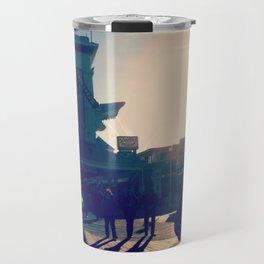 Ocean City Boardwalk Travel Mug