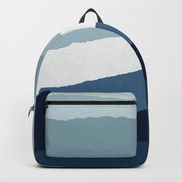 Blue Abstract II Backpack
