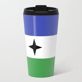 Bubi Bantu people ethnic flag cameroon africa Travel Mug