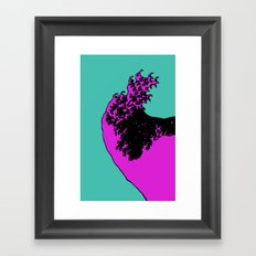 wave rider no.3 Framed Art Print