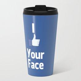Your Face Travel Mug