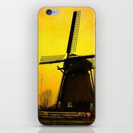 Dutch Windmill iPhone Skin