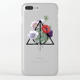 Deathly Hallows Clear iPhone Case