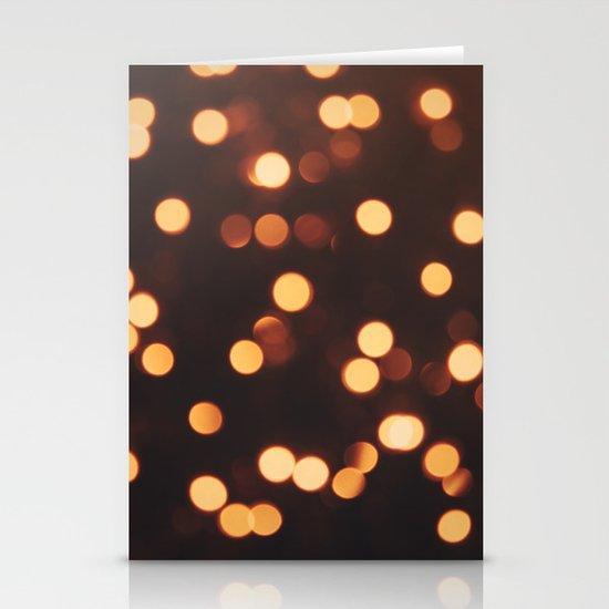 Christmas Lights II Stationery Cards