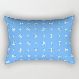 stars 104- blue Rectangular Pillow