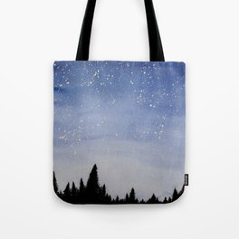 Forest Watercolors Tote Bag