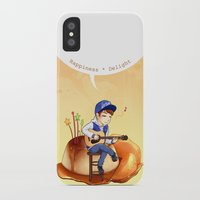 exo iPhone & iPod Cases featuring EXO Chanyeol on caramel pudding by Rei Lydia