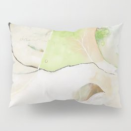 """""""Dream Without Fear"""" Original Painting by Flora Bowley Pillow Sham"""