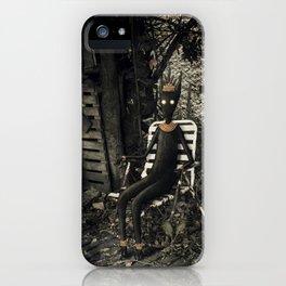 Disfrutando del silencio iPhone Case
