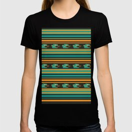 Aztec Mexican Mythological Jaguar Pattern T-shirt