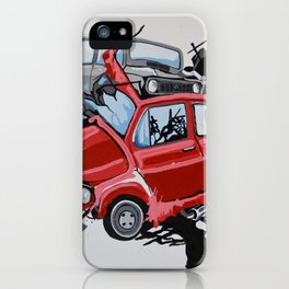 Carsharing iPhone Case