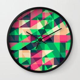 Abstract Decor 5 Wall Clock