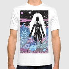 Goddess X-LARGE White Mens Fitted Tee