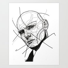 Billy Corgan Art Print