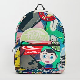 Dubbers love Van art Backpack