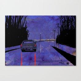 Nightscape 02 Canvas Print