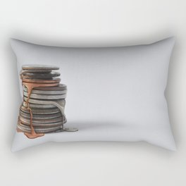 Melting Coins Rectangular Pillow