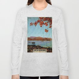 Stresa Borromeo Lake Maggiore 1927 Long Sleeve T-shirt