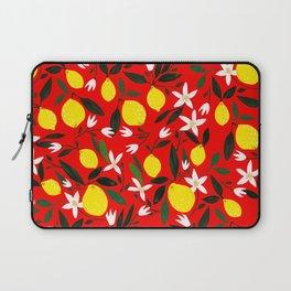 Lemons Red Laptop Sleeve